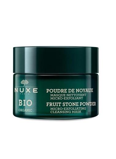 Nuxe  Bio Organic Fruit Stone Powder Micro Exfoliating Cleansing Mask 50 Ml Renksiz